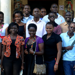 Participants at the Writivism Mentorship Programme in Uganda.