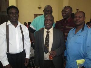 Front: A.C. Moyo, T.K. Tsodzo, Memory Chirere Back: Shimmer Chinodya, Ignatius Mabasa